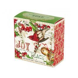 Michel Design Works luxusní mýdlo v elegantní krabičce Jmelí a Cesmína 100 g Tuhá mýdla