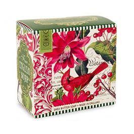 Michel Design Works luxusní mýdlo v elegantní krabičce Vánoční květy 100 g