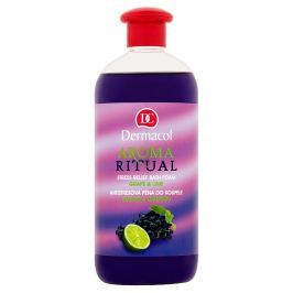 Dermacol Aroma Ritual antistresová pěna do koupele hrozny s limetkou  500 ml