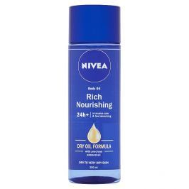 Nivea Body Oil tělový výživný olej 200 ml Tělové krémy a mléka