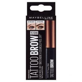 Maybelline Brow Tattoo Gel Tint semi-permanentní gel na barvení obočí 02 Medium Brown Obočí