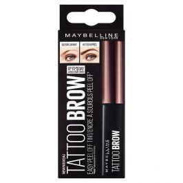 Maybelline Brow Tattoo Gel Tint semi-permanentní gel na barvení obočí 03 Dark Brown Obočí