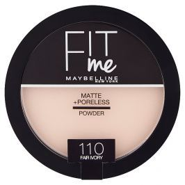 Maybelline Fit Me Matte & Poreless pudr 110 Fair Ivory
