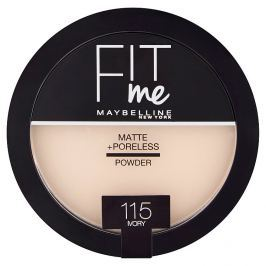 Maybelline Fit Me Matte & Poreless pudr 115 Ivory Pudry