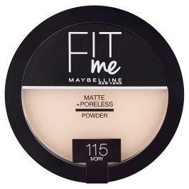 Maybelline Fit Me Matte & Poreless pudr 115 Ivory