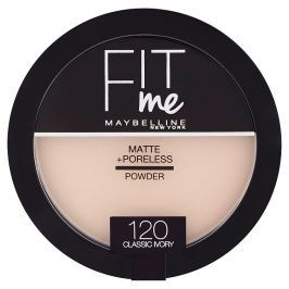 Maybelline Fit Me Matte pudr Classic Ivory 1 Pudry