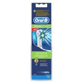 Oral B Cross Action náhrady na elektrický zubní kartáček 2 ks Elektrické zubní kartáčky