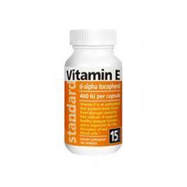 Vitamín E 400 IU přírodní 100 kapslí  Vitamíny a multivitamíny
