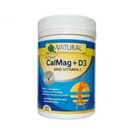 CalMag C + D3 práškový 150 g  Minerály a stopové prvky