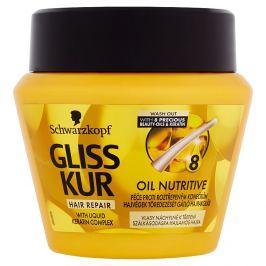 Gliss Kur Oil Nutritive péče proti roztřepeným konečkům  300 ml Masky a kúry