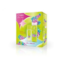 C-Thru Lime Magic deodorant s rozprašovačem + sprchový gel  75 ml + 250 ml