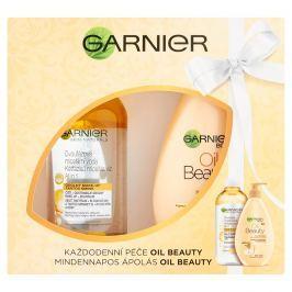 Garnier Oil Beauty tělové mléko + Garnier micelární voda all in 1 dárková sada