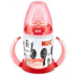 NUK First Choice láhev na učení se siIikonovým pítkem Disney Mickey, 150 ml