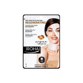 Iroha intenzivní regenerační maska na obličej a krk sarganovým a hyaluronovým sérem  30 ml