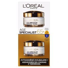 L'Oréal Paris Age Specialist 65+ sada denního a nočního krému 2 x 50 ml