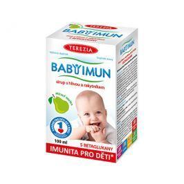 Baby Imun sirup s hlívou a rakytníkem - příchuť hruška 100 ml  Doplňky stravy pro děti