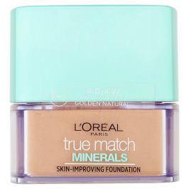 L'Oréal Paris True Match Minerals minerální pudr 4D/4W Golden Natural, 10 g
