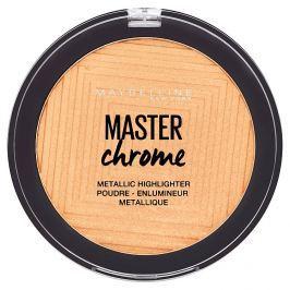 Maybelline Master Chrome pudrový rozjasňovač 100 Molten Gold, 6,7 g