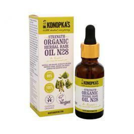 Bylinný olej na vlasy č. 28 pro posílení vlasů 30 ml