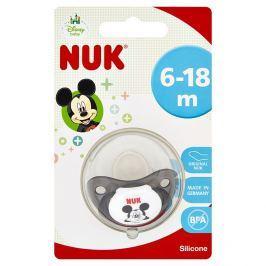 NUK dudlík Disney Mickey silikon, velikost 2, 6–18 měsíců