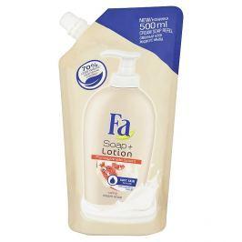 Fa Soap + Lotion Pomegranate krémové mýdlo náhradní náplň 500 ml