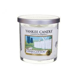Yankee Candle Décor malý vonná svíčka  Čistá bavlna, 198 g