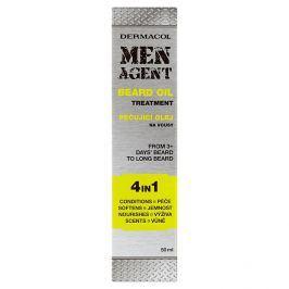 Dermacol Pečující olej na vousy Men Agent (Beard Oil)  50 ml
