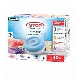 Ceresit STOP VLHKOSTI AERO 360° náhradní tablety 3v1 aroma tripack 3x 450 g