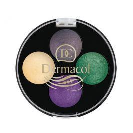 Dermacol Oční stíny Quattro Wet & Dry č.6