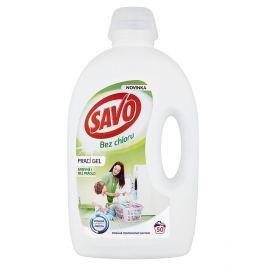 SAVO prací gel barevné i bílé prádlo 50 praní 2,5 l