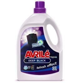 Avrilé Deep Black prací gel na černé prádlo, 50 praní 3 l