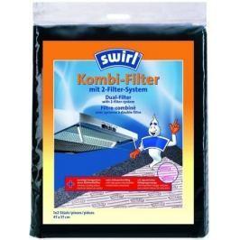 Swirl kombi filtr do digestoří (tukový + pachový) 2 kusy