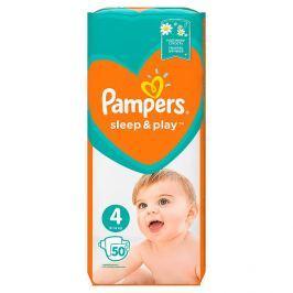Pampers Sleep & Play V4 jednorázové pleny 50 ks