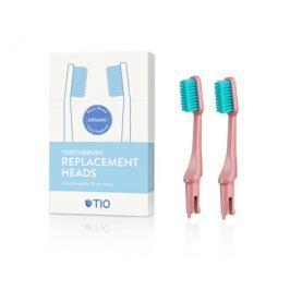Náhradní hlavice k zubnímu kartáčku (medium) 2 ks - korálově růžová