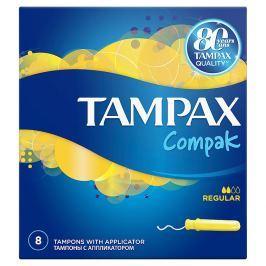 Tampax Compak Regular tampony s aplikátorem 8 ks
