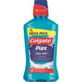 Colgate Plax Multi Protection Cool Mint ústní voda bez alkoholu 1000 ml
