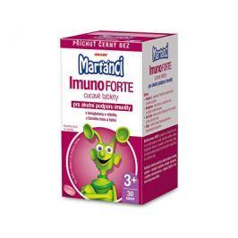 Marťánci ImunoForte příchuť černý bez 30 cucavých tbl.
