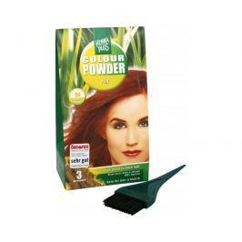 HennaPlus Přírodní prášková barva (Colour Powder) 56 Kaštanová