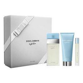 Dolce & Gabbana Light Blue Woman EdT 100 ml + tělové mléko 100 ml + EdT 7,4 ml dárková sada