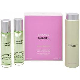 Chanel Chance Eau Fraiche - EDT (3 x 20 ml) 60 ml