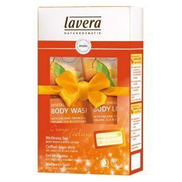 Lavera Pomerančové zážitky sprchový gel 200 ml + tělové mléko 200 ml dárková sada