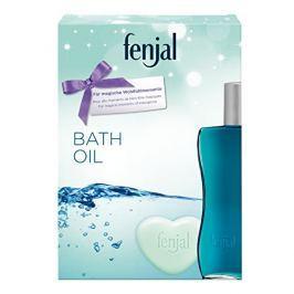 Fenjal Klasický krémový olej do koupele 200 ml + Krémové mýdlo ve tvaru srdce 90 g dárková sada