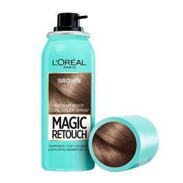 Loreal Paris Vlasový korektor šedin a odrostů Magic Retouch (Instant Root Concealer Spray) 75 ml 14 Cold Brown