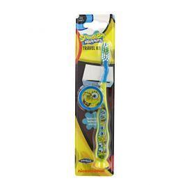 VitalCare Zubní kartáček s krytkou Sponge Bob