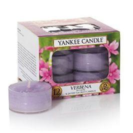 Yankee Candle Aromatické čajové svíčky Verbena 12 x 9,8 g