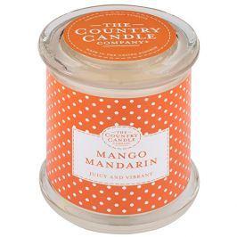 Country Candle Vonná svíčka ve skle s víčkem Mango a mandarinka (Mango Mandarin) 848 g
