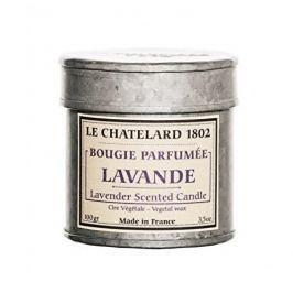 Le Chatelard Svíčka v plechu - Levandule 100 g
