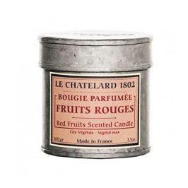 Le Chatelard Svíčka v plechu - Červené ovoce 100 g