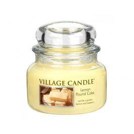 Village Candle Vonná svíčka ve skle Citrónový koláč (Lemon Poud Cake) 269 g