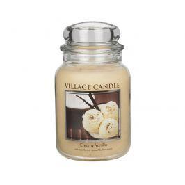 Village Candle Vonná svíčka ve skle Vanilková zmrzlina (Creamy Vanilla) 645 g